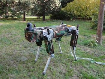 Four-l (Four-legged Robot for Optimal Gaits)