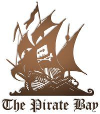 Лого Пиратской бухты (The Pirate Bay)
